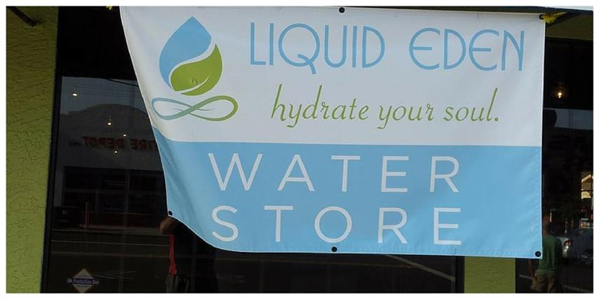 Liquid Eden Water Store